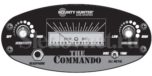 Металлоискатель Bounty Hunter Cammando